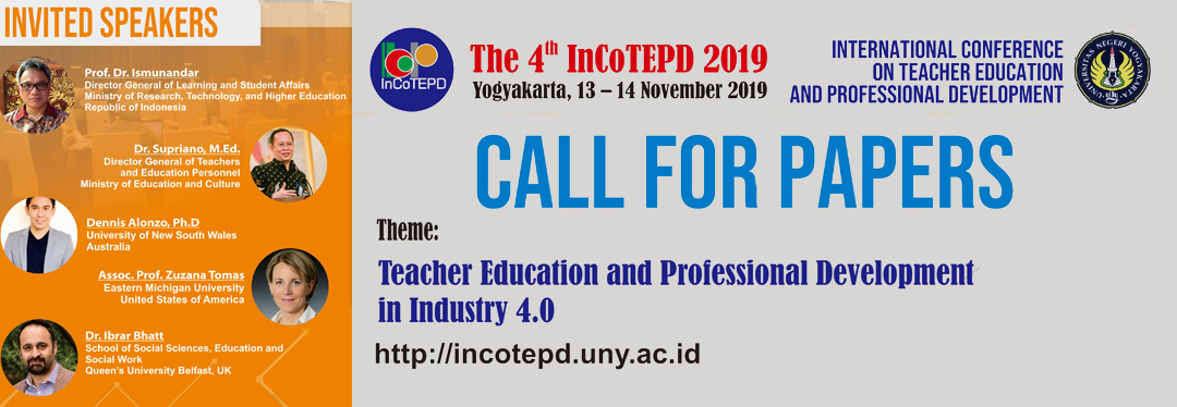 International Conference on Teacher Education and Professional Development 2019