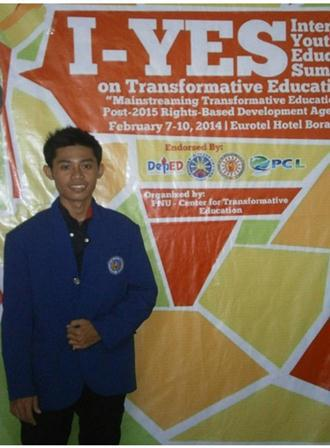 Mahasiswa FIS dan FT Mewakili UNY di International Youth and Educators Summit on Transformative Education (I-YES) 2014 di Filipina